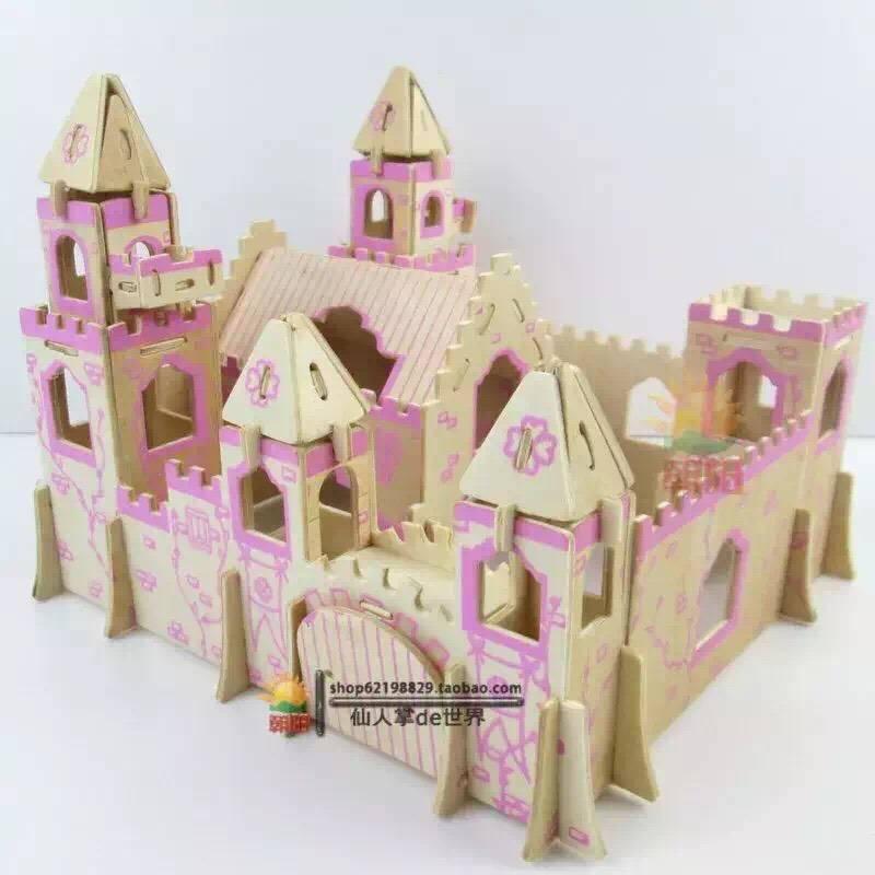纸盒做公主城堡步骤和图片