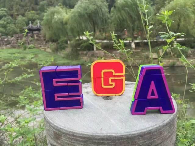 会变形的字母 26个字母会变形 孩子喜欢??