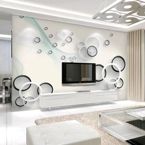 这个两个电视背景墙哪个好看?