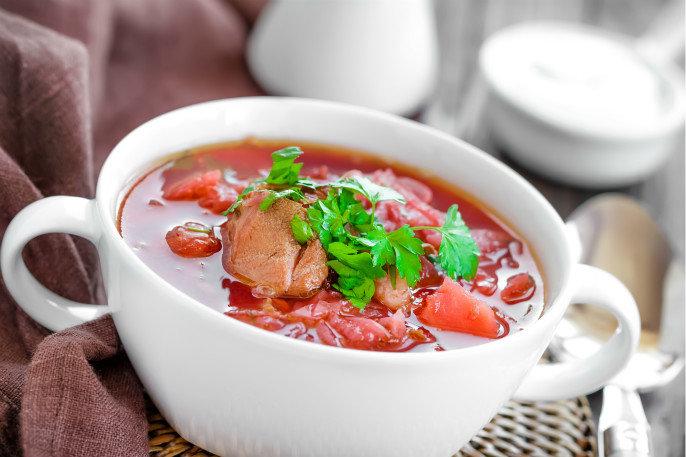 番茄鲜蘑排骨汤